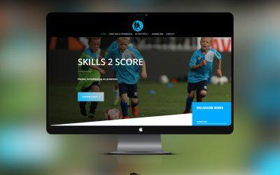 Website Skills2Score in een nieuw jasje.